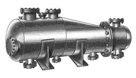 Кожухотрубный испаритель WTK DBE 265 Челябинск